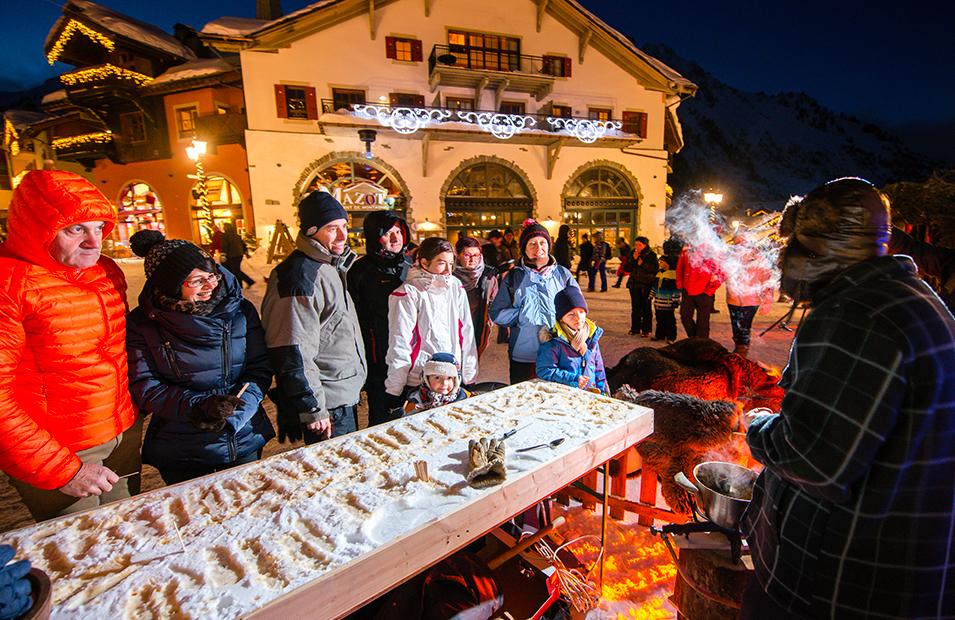 Animation touristique station de ski