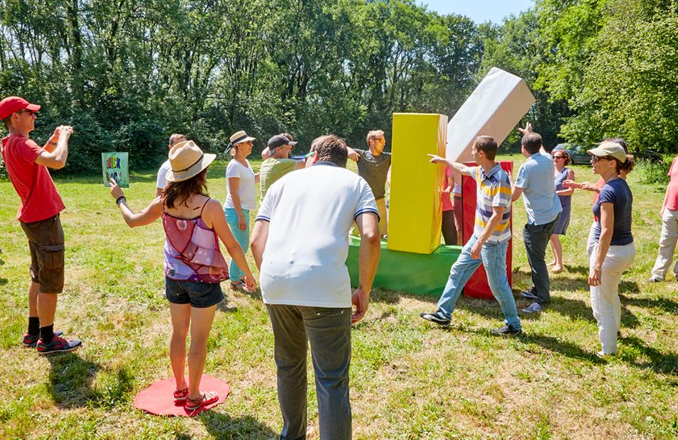 Activité extérieure teambuilding Grenoble